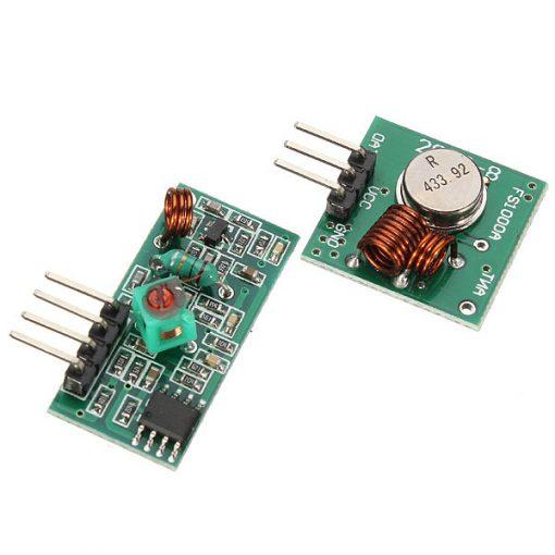 ricevitore e trasmettitore 433 Mhz
