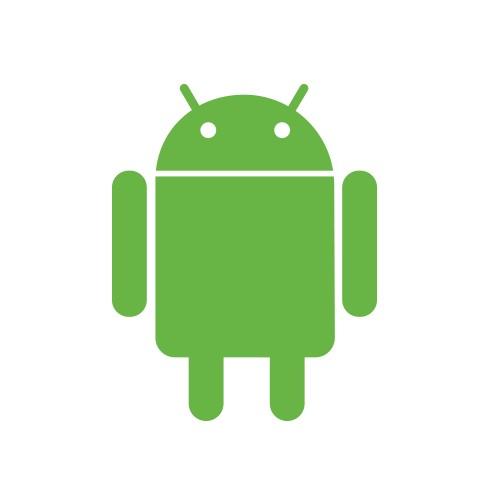 logo android robottino verde