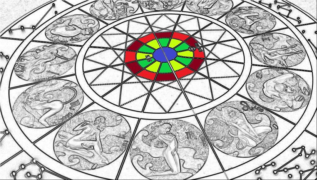 disegno per oroscopo