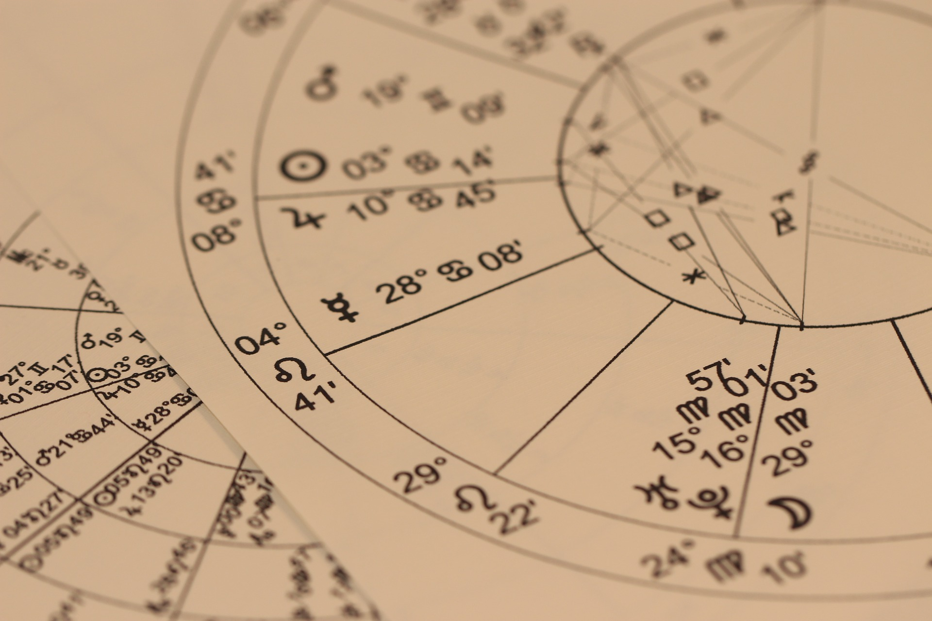 schema per oroscopo